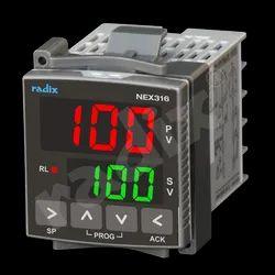 48x48 Economy Range PID Controller, NEX316 (Two Row Display)