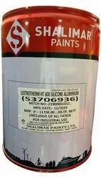 Aluminium Shalimar Lustrotherm HT 600 Silicone Aluminum Paint, Liquid, Packaging Size: 20 Litre