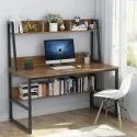Computer Table Plus Laptop Table With Shelf Large