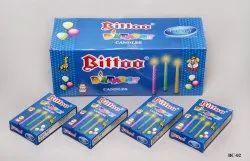 BC-02 Bittoo Birthday Candle BLUE BOX