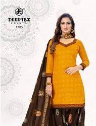 Deeptex Pichkari Vol 17 Cotton Printed Dress Material Catalog