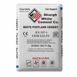 Shargh White Cement, 50 Kg