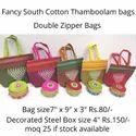 Kolam print  fancy thamboolam bag