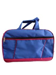 Blue Rexine Travel Luggage Bag, Size/Dimension: 11 X 6 X 6.5 Inch ( W X H Xd)
