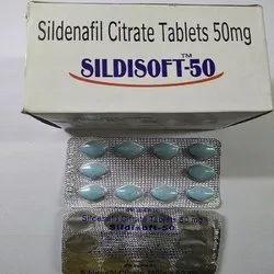 Sildisoft 50 Mg Tablets (sildenafil)