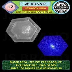 Hexagon Kida Synthetic Silicone Plastic Mold