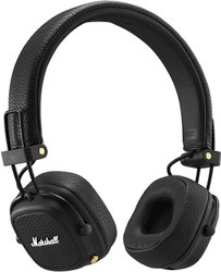 Black Marshall Major III Bluetooth Headphones, 178.04 G
