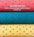 Laffer Finish 100% Cotton Double Laffer Finish Shirting Fabric