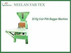Coir Pith Compacting Bagger Machine