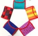 6 bottles non woven stitched bags