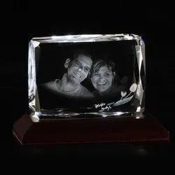 3D Crystals - Beveled Shaped