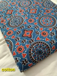 Designed Cotton Fabric, Traditional, Multicolour