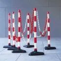 Traffic Cone Plastic Link Chain Road Safety