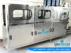 120 - 150 JPH Jar Filling Machine