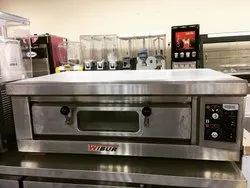 S.S Commercial Single Deck 1.5 Tray Oven Wibur Brand