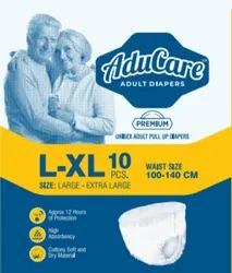 Pull UPS AduCare Premium Adult Diaper (Pull UP / Pant Style) (Size : L-XL)