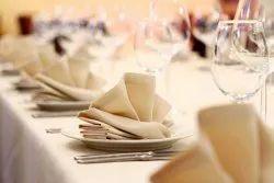 Cotton Plain Table Napkins, For Hotels, Size: 18x18, 20x20 & 22x22
