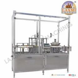 Injectable Liquid Filling with Rubber Stoppering Machine