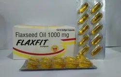Flaxseed Oil 1000 mg Softgel Capsules