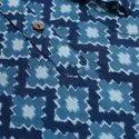 Janasya Men's Blue Cotton Kurta ( Men5029)