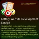 Php/javascript Responsive Online Lottery Website Development Service, With 24*7 Support