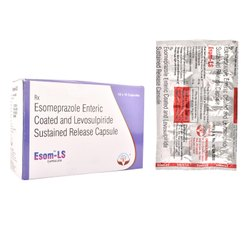 Esomeprazole Enteric Coated And Levosulpiride Sustained Release Capsules