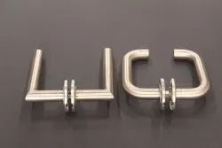 Silver Stainless Steel Lever Handles