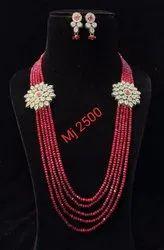 Kundan Long Necklace