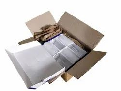 Perforated Paper Brown GreenFill For Packaging