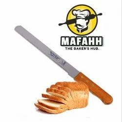 10Inch Bread Knife, Finish: Wooden