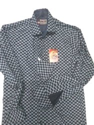 Almoda Lifestyle Collar Neck Mens Printed Cotton Shirt