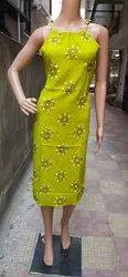 MOHINI Casual Wear Ladies Rayon Printed Sleeveless Kurti, Wash Care: Handwash