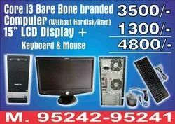 Hcl/hp I3 1st Generation Bare Bone Branded Computer With 15