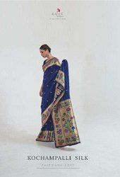 Rajtex Kochampalli Silk Handloom Party Wear Saree Catalog