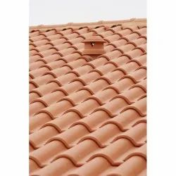 Profile Color Coated Clay Roof Tile, Dimensions: 8 X 5 Inch