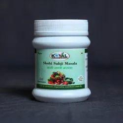 Herbal Shahi Sabji Masala, Packaging Size: 100 g, Packaging Type: Bottle