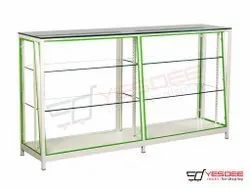3.5 Feet Glass Display Counter, For Restaurant