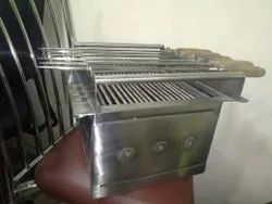 Barbeque Grill With 8 Skewer