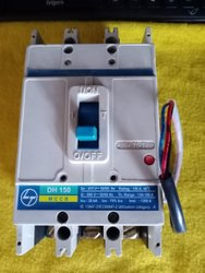 Triple Pole 150A DH150 MCCB L&T