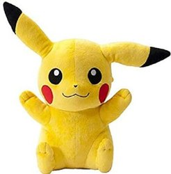 Yellow Kid Cute Pikachu Stuffed Soft Plush Toy 30 Cm, 0.2 Gm