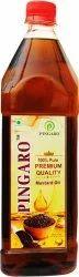 Kachchi Ghani 1 L Pingaro Premium Quality Mustard Oil, Packaging Type: Plastic Bottle