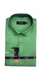 Cotton Green Mens Plain Formal Shirt, Handwash