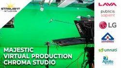 Chroma Studio Setup For Video Production