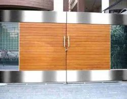 Stainless Steel Hinged Gate, For Residential