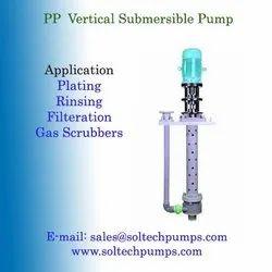 PP Vertical Submersible Pump