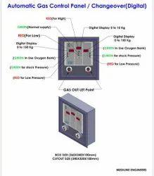 Ambulance Oxygen Control Panel Manifold
