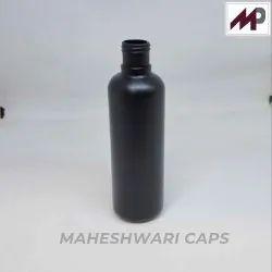 200 ML Black HDPE Round Bottle