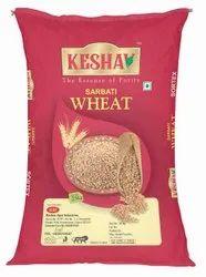 Brown 25 Kg Keshav Sarbati Wheat Grain