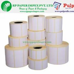 PULP Direct Thermal Labels 100 x 150 mm (4 x 6 inch), 1 Up Chromo DT100x150x1
