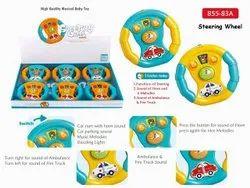 ABS Plastic Steering Wheel Toy